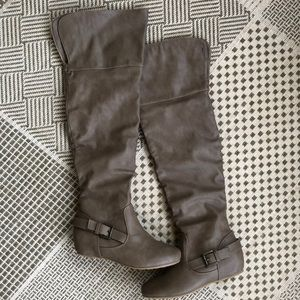 Wild Diva over the knee boots size 6 👢